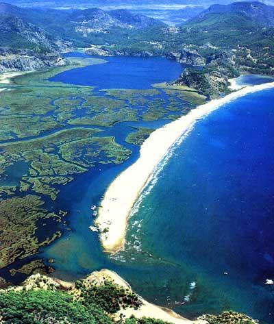Iztuzu Beach, Dalyan, Turquía -