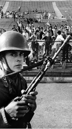Estadio Nacional de Chile, detenidos 1973