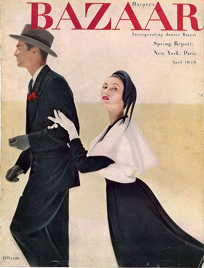 Alexey Brodovitch - Harper's Bazaar, April 1949