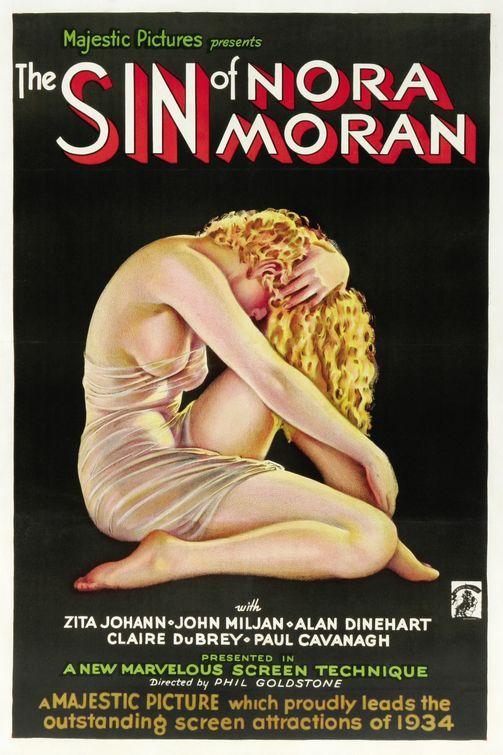 "Alberto Vargas, ""The Sin of Nora Moran"" (Zita Johann. Dir. Phil Goldstone), 1933"
