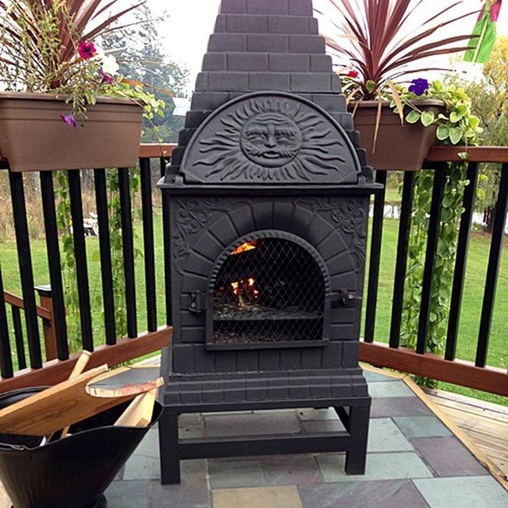 5 Best Cast Aluminum Chimineas Of 2020 The Online Grill Outdoor Fireplace Chiminea Large Chiminea