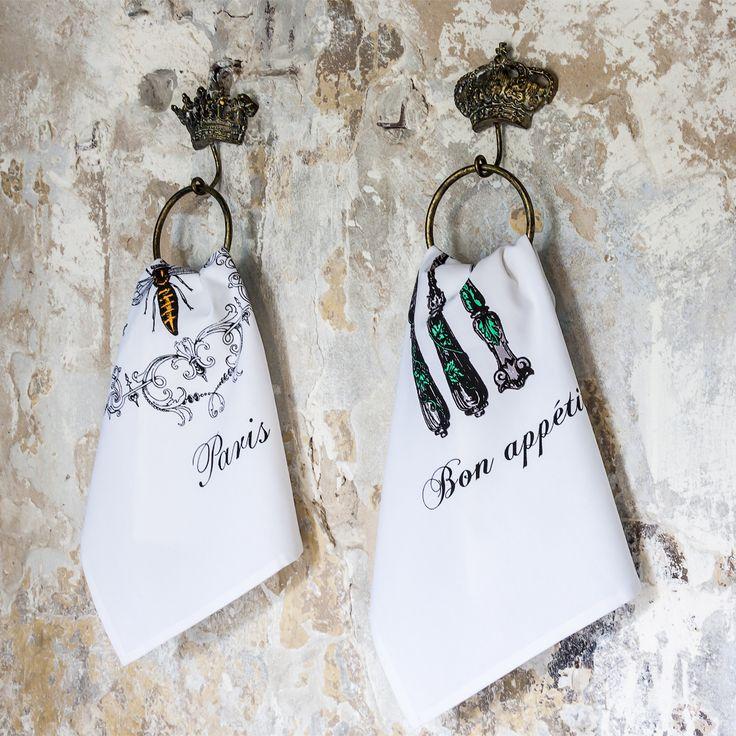"""Крючки и вешалки - самый функциональный элемент домашнего декора. Набор металлических вешалок """"Ваше Высочество"""" органично впишется в любой интерьер, оформленный в стиле """"прованс"""". Изящные вешалки, главным элементом которых являются короны, с роскошью украсят стену ванной комнаты, столовой или прихожей. #декор, #интерьер, #вешалка, #прованс, #французскийстиль, #полотенце, #teatowel, #hanger, #provence, #interior, #decor, #frenchstyle, #objectmechty"""