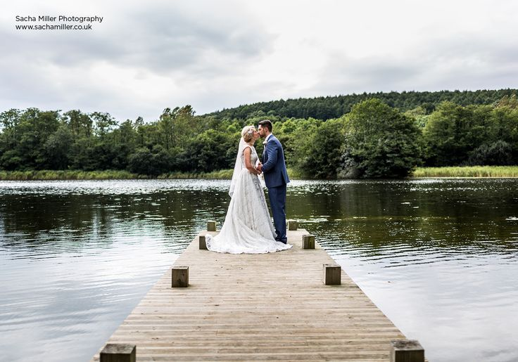 Beautiful Wedding Lake Shot | Castle Wedding, Hensol Castle