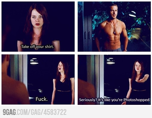 Crazy, Stupid, Love....just watched it finally and I am now a fan of Ryan lol