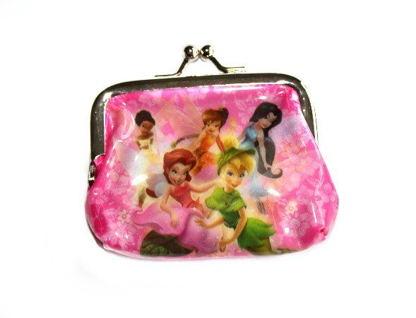 This cute purse is a great add-on gift for a little girl! Available in 4 different designs and at only $2, who wouldn't want one! Tinkerbell Coin Purse - Friends