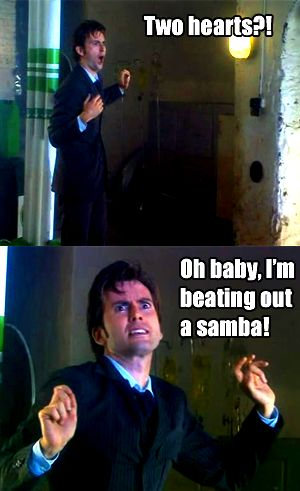 Possibly my favorite Ten moment... EVER. David Tennant is a GENIUS.