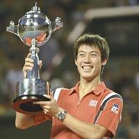 錦織  圭 22歳   楽天ジャパンオープン2012 優勝