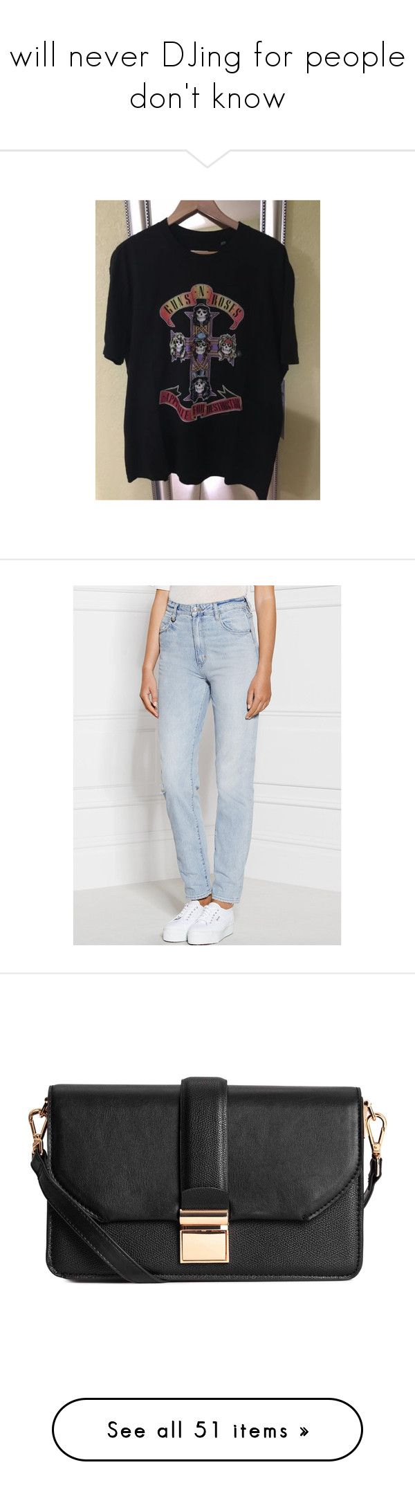 """I will never DJing for people I don't know"" by losageles ❤ liked on Polyvore featuring jeans, melrose blue, destructed jeans, neuw jeans, 5 pocket jeans, ripped blue jeans, high waisted blue jeans, shoes, sneakers and parchment"