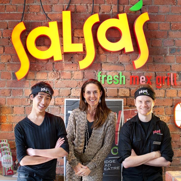Janine Allis at Salsa's Fresh Mex Grill, Bridge Rd, VIC