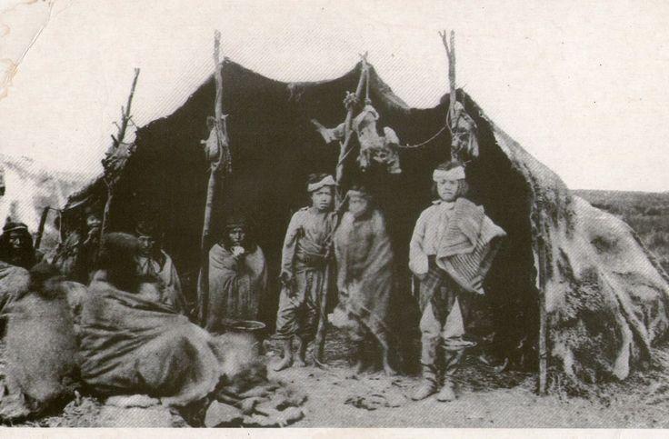 Indios Yaganes ,Onas de Tierra del Fuego