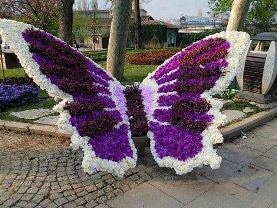Beautiful Butterfly Topiary