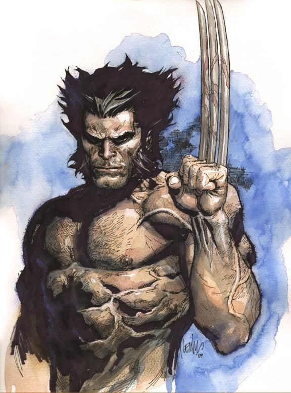 Wolverine (Logan) Art | Artist: Leinil Francis Yu