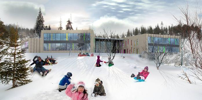 Raufoss barneskole_Link arkitektur