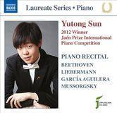 2012 Winner, Jaén Prize International Piano Competition [CD]