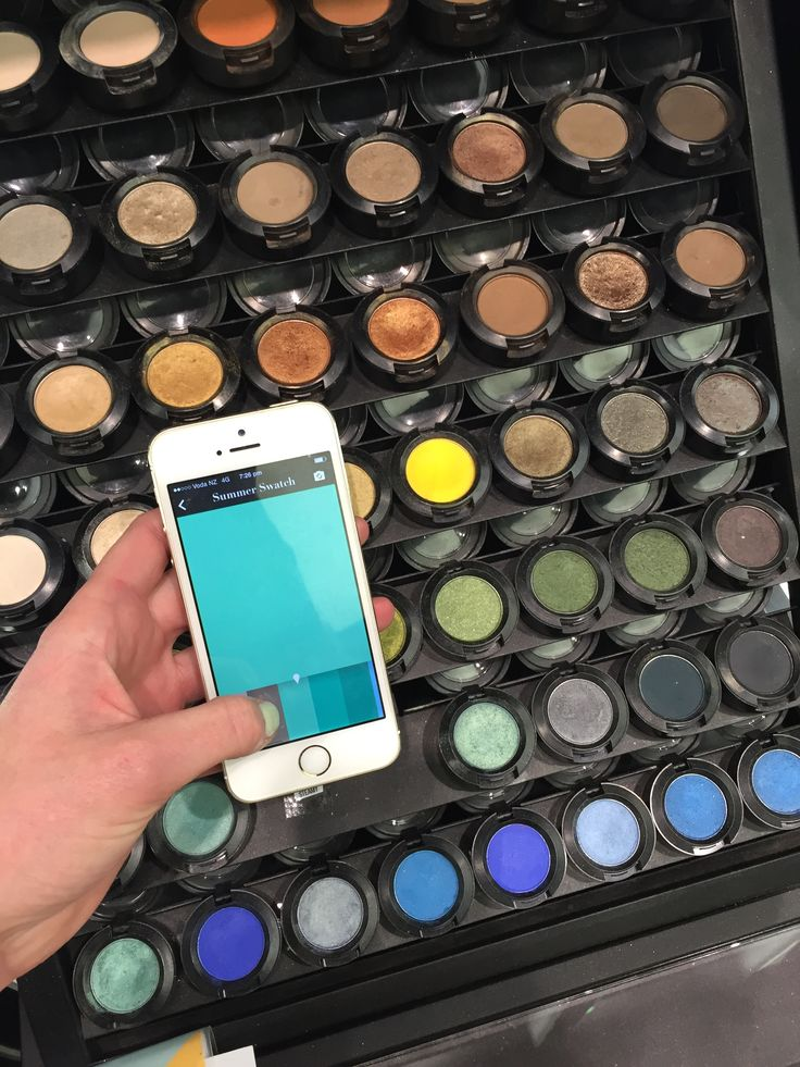 Using the Personal Colour Swatch App to choose make up colour - summer swatch!  Watch the video on how to use it here: https://www.youtube.com/watch?v=V9Ah1h6sUGs