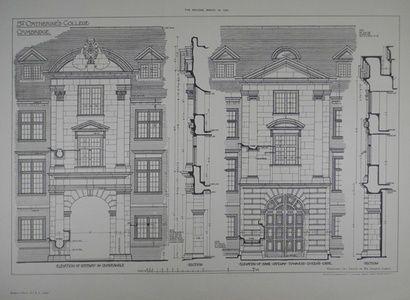St. Catherine's College, Cambridge | Sanders of Oxford