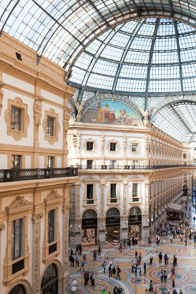 Galleria Vittorio Emanuele II in Milan is restored - Tempo da Delicadeza