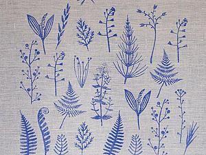 Печатаем штампами и акриловыми красками по ткани - BUDDHA CAT - Ярмарка Мастеров http://www.livemaster.ru/topic/1400641-pechataem-shtampami-i-akrilovymi-kraskami-po-tkani