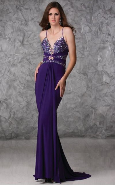 Chiffon Spaghetti Straps Natural Sheath Floor-length Bridesmaid Dresses 0190450