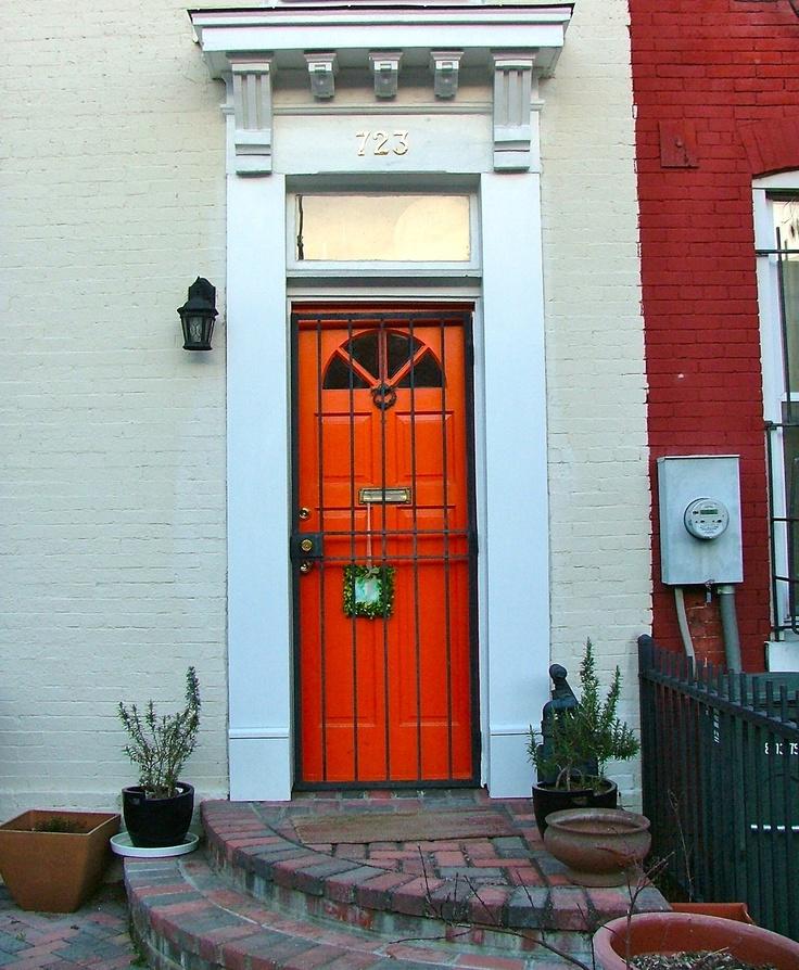 Capitol Hill, Washington DC Door.