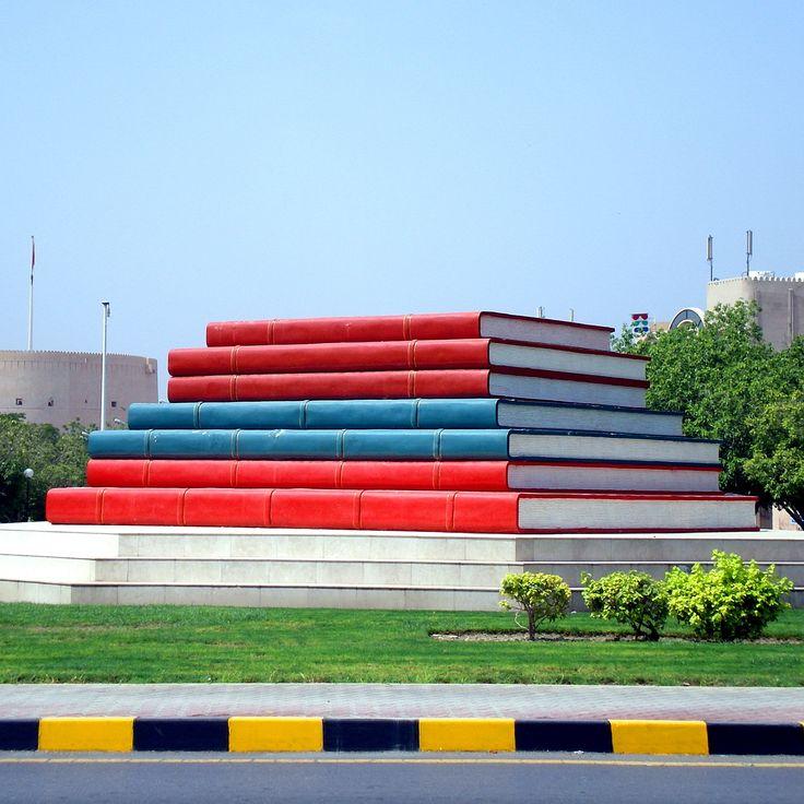 Nizwa's famous #books related to of course, the Nizwa University.
