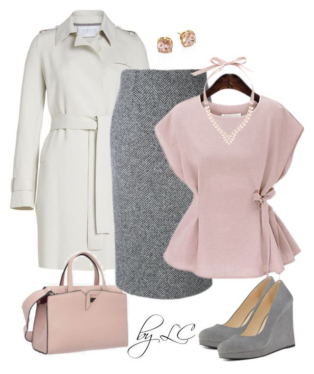 grey&pink by explorer-14541556185 on Polyvore featuring Harris Wharf London, RED Valentino, Nine West, Tory Burch and Volta