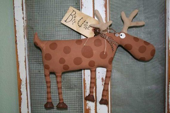 Deer  Named Buck by buttuglee on Etsy