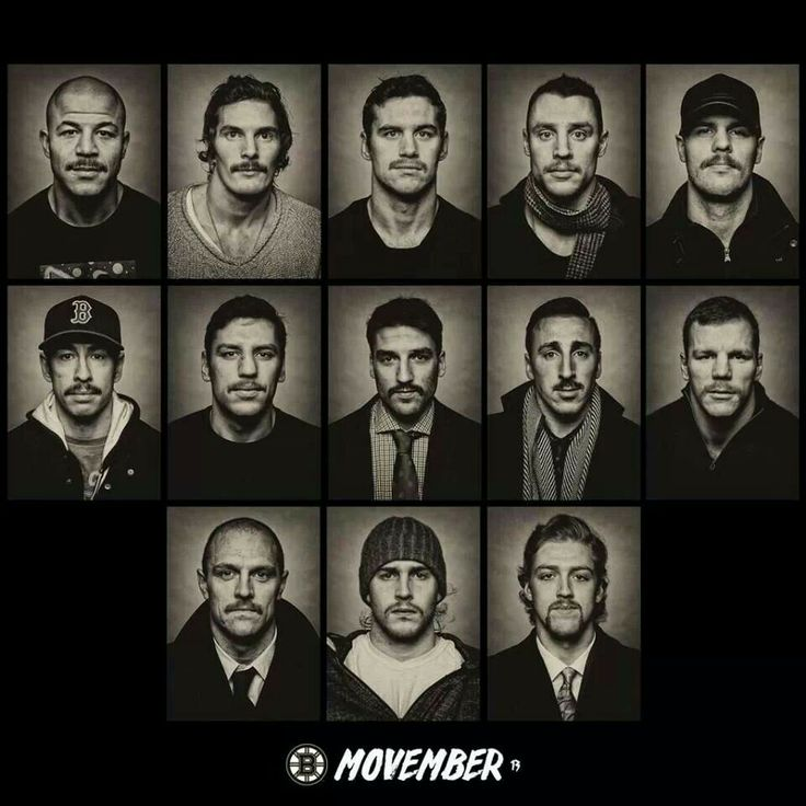 Boston Bruins Movember