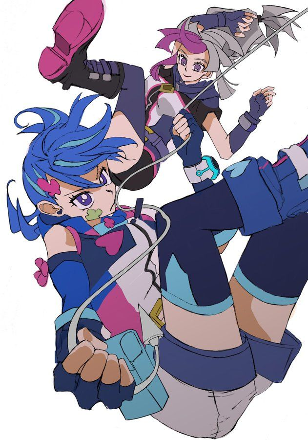 Yugioh Vrains Fan Art Blue Girl Ghost Girl Anime Yu Gi Oh Anime Yugioh