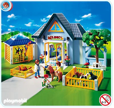 Playmobile Animal Clinic