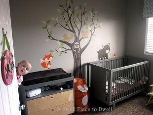 Woodland Themed Nursery...