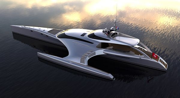 Adastra Luxury Yacht: from Concept to Reality