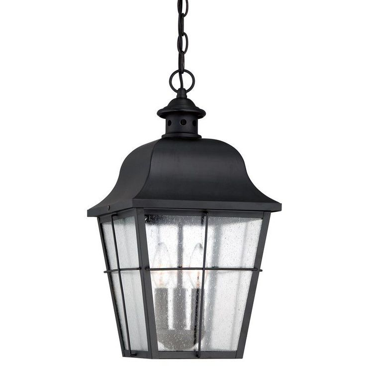 Find This Pin And More On Kitchen Lighting Quoizel Millhouse 3 Light Lantern Outdoor Pendant