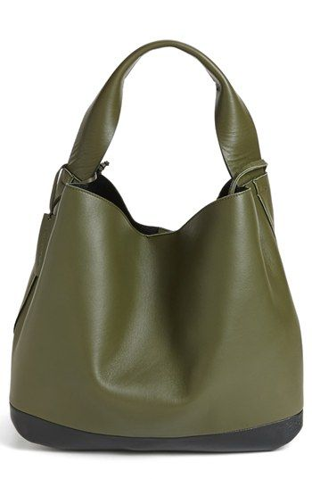 Marni Slouchy Lambskin Leather Hobo available at #Nordstrom