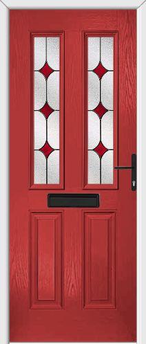 Red Composite Door. 10 Year Guarantee. Free Survey. Online Offers. New Red & 18 best Composite Doors images on Pinterest   Composite door Front ...