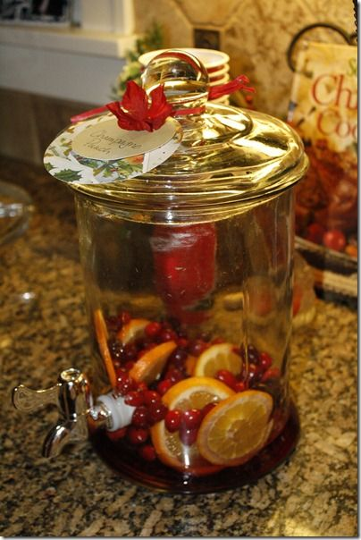 Christmas Champagne Punch | Food & Drink | Pinterest
