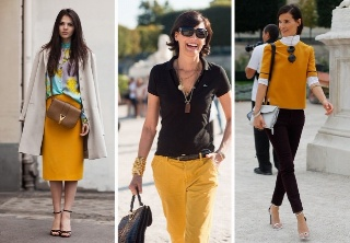 my style icon....: Parisians Chic, Paris Fashion Week, Casual Shirts, Yellow Pants, Style Icons, La Fressang, Inè De, Mustard Yellow, French Chic
