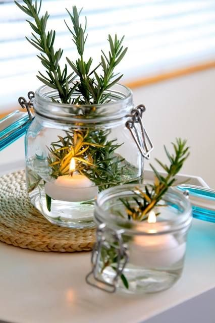 Sharyn loves using our glass storage jars for a range of weird and wonderful uses! Fill your guests bathroom with candles and fresh smelling flowers/greenery. Check out the huge range of colours and sizes online: http://farm.rs/13BSQYH  #NewandNow