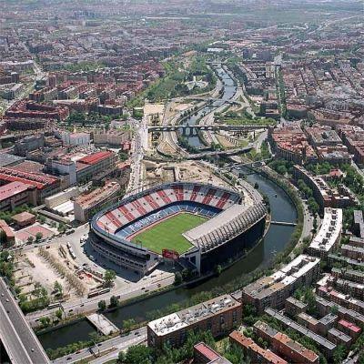 Estadio Vicente Calderon, España