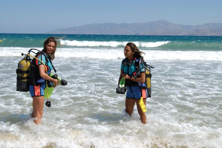 Paros is the ideal place for scuba diving enthusiasts