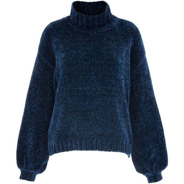 Women's Jumper at House of Fraser ❤ liked on Polyvore featuring tops, sweaters, jumper tops, jumpers sweaters, blue sweater, house of fraser and blue top