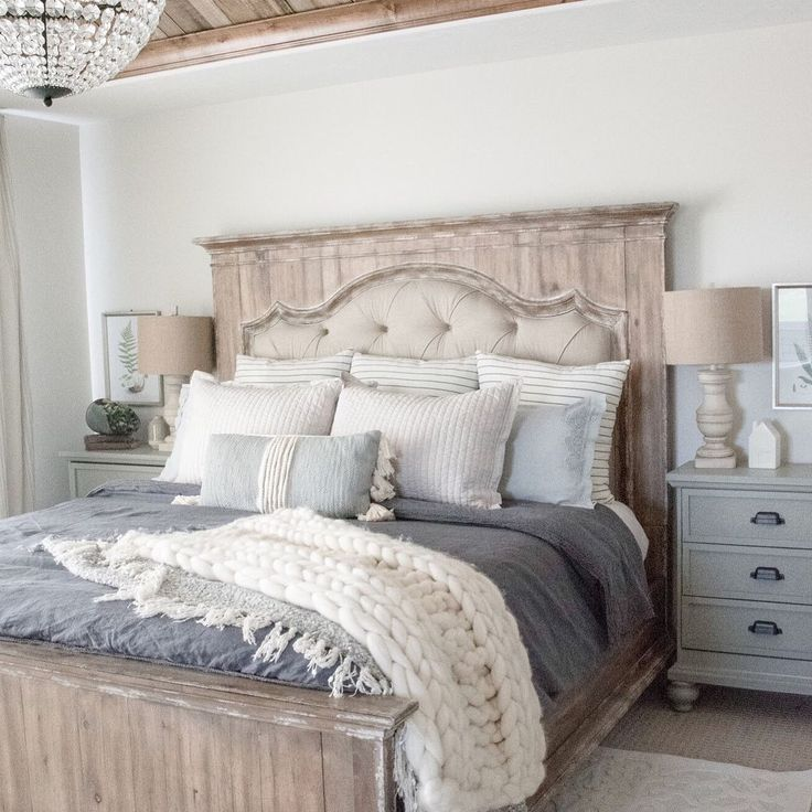 15 Wicked Rustic Bedroom Designs That Will Make You Want Them: 48 Delightful Modern Farmhouse Style Home Nestled Ideas In