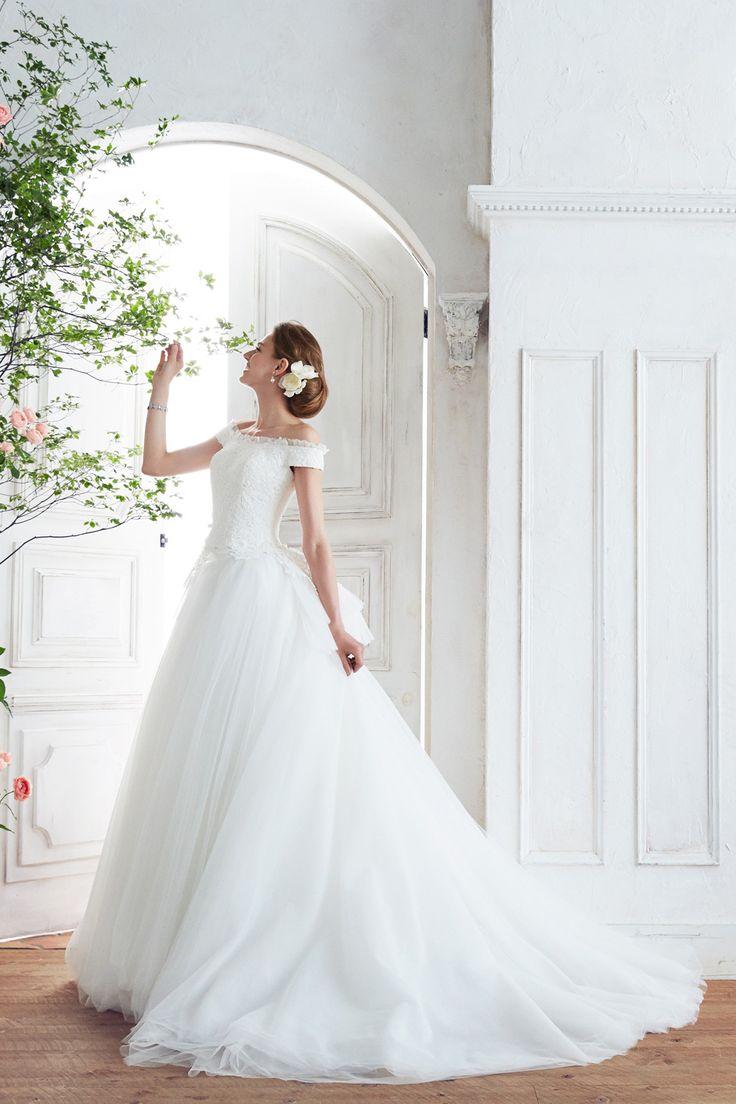 [dress:NOVARESE BTNV192]  weddingdress weddingday white princess