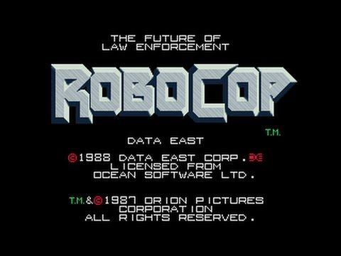 """Robocop Arcade Game Playthrough"" - This is SO old-school!!! OMG!!!!!!"