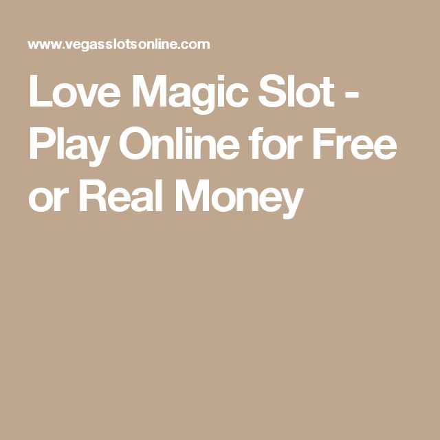 Lucky Magic Slots - Play Now for Free or Real Money