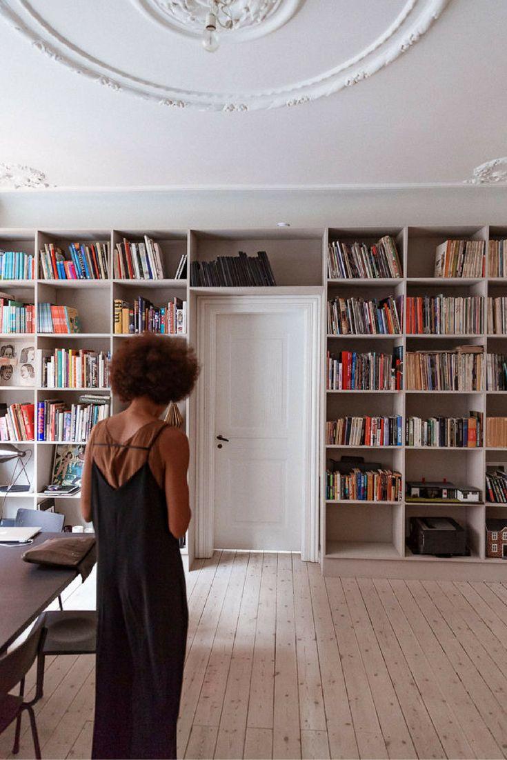 Co colour coordinated bookshelf - Danish Design Goals