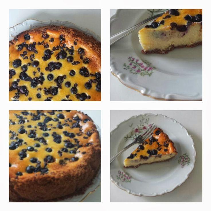 MATRIMONIO IN CUCINA: Cheesecake crema di vaniglia, mirtilli e cioccolat...