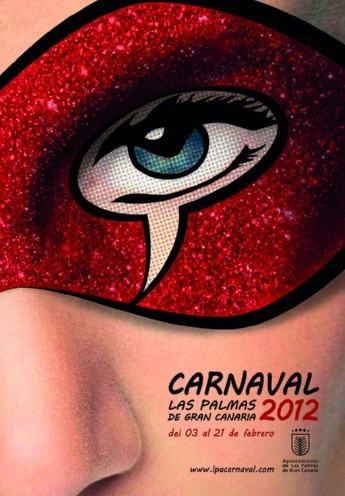 Las Palmas Carnaval Poster
