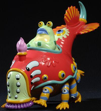Jim Woodring toy: Mr Bumper