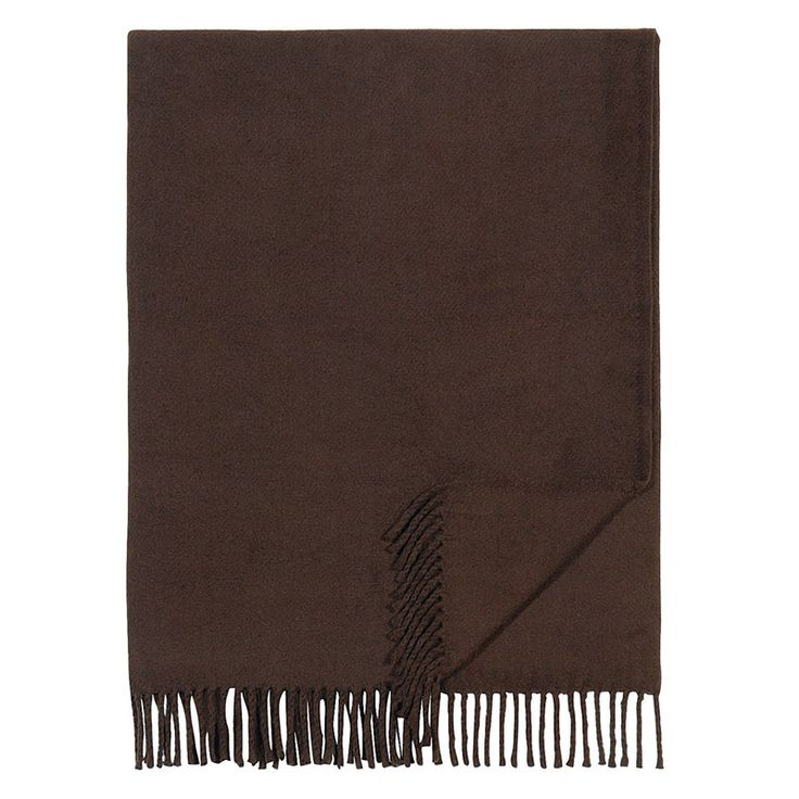 Swiss Cottage Brown Throw